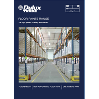 Specifier Guide to Dulux Trade Floor Paints Range