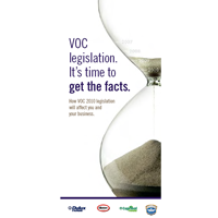 VOC legislation. It's time to get the facts