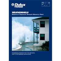 Weathershield Maximum Exposure Specifier Brochure