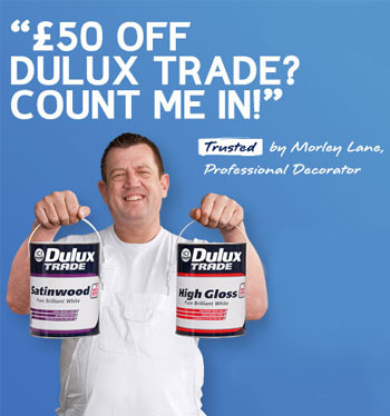 Dulux Trade paint continues its drive to support the trade