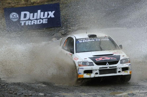 Dulux Trade looks forward to 2011 British Rally Championship