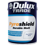Dulux Trade Pyroshield Durable Matt