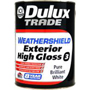 Dulux Trade Weathershield Exterior High Gloss