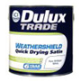 Dulux Trade Weathershield Quick Drying Satin