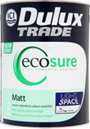 Dulux Trade Ecosure Matt Light & Space
