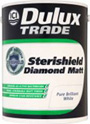 Dulux Trade Sterishield Diamond Matt