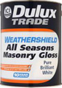 Dulux Trade Weathershield All Seasons Masonry Gloss