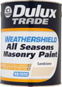 Dulux Trade Weathershield All Seasons Masonry Paint